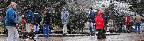 """CLIMA: Llegó el frío a gran parte del país, pero anticipan que el invierno será """"moderado"""" y con más lluvias"""
