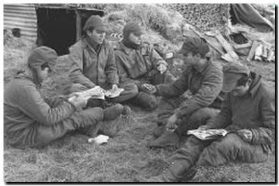 Soldados en Malvinas (62 fotos)