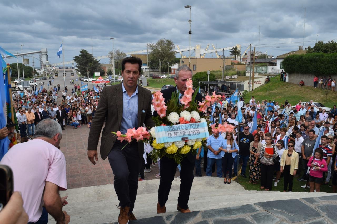 MALVINAS: Acto en Necochea y Quequén