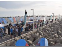 PUERTO QUEQUÉN: Reinauguración del Mural Reflejos