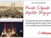 NECOCHEA: Se vienen los festejos por el 90° Aniversario del Puente Colgante