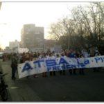 NECOCHEA: Importante marcha por la reapertura de la Clínica Regional. El petitorio no fue recibido por ningún funcionario Municipal. Duros conceptos de Mario Lastra.