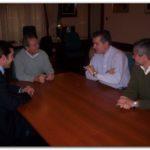 NECOCHEA: Visita del Subsecretario de Actividades Portuarias al Intendente.