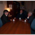 NECOCHEA: Reunión del Intendente Daniel Molina  con el Jefe Departamental Guillermo Britos