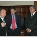 SAN NICOLÁS: El Subsecretario de Trabajo  Gastón Guarracino, visito el distrito de San Nicolás.