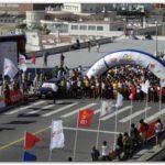 """DEPORTES: """"XXII Edición Maratón Internacional de la Ciudad de Mar del Plata. Raimundo Feijoo de la Matanza y Ennia Barreda de Mar del Plata ganaron los 42Km."""