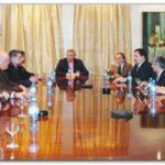 PJ: Néstor Kirchner recibió en la Quinta de Olivos a intendentes de la Quinta Sección.