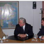 NECOCHEA: José Luis Vidal se reunió con el Dr. Carlos Cuartango y el Dr. Gastón Guarracino.