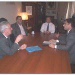 NECOCHEA: Reuniones del Intendente Daniel Molina con almaceneros y delegados municipales.