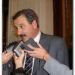 """NECOCHEA: """"Creo que corresponde que Molina le pida disculpas a los miembros de la mesa (del Comité Radical)"""", expresó el Dr. Pedro José Azcoiti. Fuerte crítica contra Armentía del Comité"""