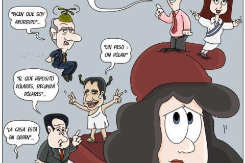 Sale con fritas… Humor político…