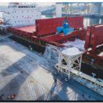 PUERTO QUEQUÉN superó su récord de importación de fertilizantes en doce horas