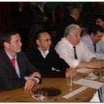 OLAVARRÍA: Oscar Cuartango y Gastón Guarracino en apoyo de sus funcionarios