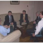 NECOCHEA: Reunión con representantes del Banco Provincia
