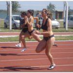 DEPORTES: Campeonato Marplatense de Atletismo.Uriel Cequi con buena marca en  400  metros
