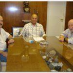 POLÍTICA: Busti se reunió con el titular de la UATRE, Geronimo Venegas