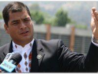 """Correa revela un """"complot y persecución"""""""