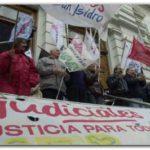 BUENOS AIRES: Los judiciales de la Provincia continúan su reclamo por la negociación salarial