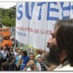 GREMIALES: Gremio docente hace jornada nacional de protesta con marcha al obelisco