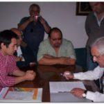 NECOCHEA: Se firmo acuerdo con taxistas. Declaraciones de Fabián Ibañez