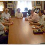 NECOCHEA: Molina recibió a la Cámara de Actividades Portuarias