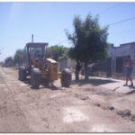 QUEQUÉN: Trabajos en Calles de la localidad y bacheos en Necochea