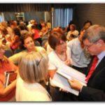 EDUCACIÓN: Reunión de autoridades de educación de la zona con el Ministro Oporto