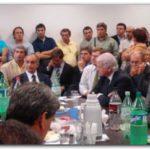 """SEGURIDAD: Intendentes opositores hicieron sus reclamos y arman """"foro opositor"""". Molina cierra acuerdos en la provincia con la CC pero no en su ciudad"""