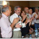 ELECCIONES 2009: Gerónimo Venegas y Felipe Solá juntos en un acto de la Segunda Sección Electoral