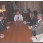 NECOCHEA: Representantes de Vestas con Molina