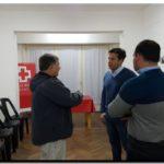 ELECCIONES 2019: Arturo Rojas visitó la sede de la Cruz Roja