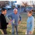 ELECCIONES 2009: El primer candidato a Concejal por Unión PRO (Lista 503), Pablo Aued visitó a los vecinos Del Barrio Luz y Fuerza
