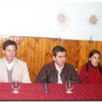 ELECCIONES 2009: Gastón Guarracino en el Club Defensores de Puerto Quequén