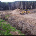 NECOCHEA: Relleno de dos cavas en el Parque Lillo