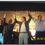 ELECCIONES 2009: Acto del Acuerdo en Necochea. Hablaron Alfonsín, Fernández, Guridi, Pita y Molina
