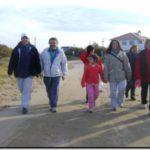 """DEPORTES: El """"Club de Caminantes de Quequén"""" avanza a paso firme"""