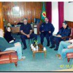 NECOCHEA: Reunión de los concejales de Unión Peronista con las autoridades policiales