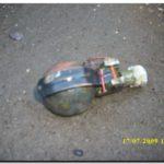 NECOCHEA: Prefectura hallo una granada de mano en el Rio Quequén