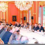 NECOCHEA: Molina junto a varios intendentes se reunió con el Gobernador Scioli
