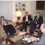 DIÁLOGOS: El Gobernador bonaerense recibió a dirigentes de UCR en la Casa de Gobierno