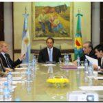 POLÍTICA: Scioli recibió a diputados electos de Unión PRO