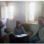 NECOCHEA: Municipales se reunieron con la Directora De Cultura Municipal, planteándole diversos temas