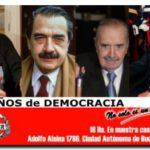 26 AÑOS DE DEMOCRACIA: Jornada de Homenajes