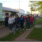 """DEPORTES: """"Estación Quequén Camina"""" cubrió la ruta  """"Benedicto Campos"""""""
