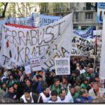 CTA: Multitudinaria Jornada de protesta por libertad y democracia sindical