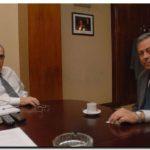 NECOCHEA: Molina junto al Ministro Camaño