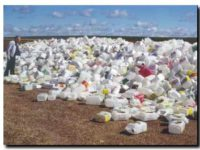 NECOCHEA: Acopio de bidones con productos químicos