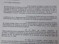 OBRAS: Puerto Quequén notificó al Municipio la donación de Obras de pavimentación