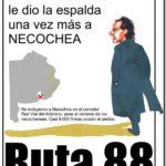 NECOCHEA: Convocatoria por Ruta 88