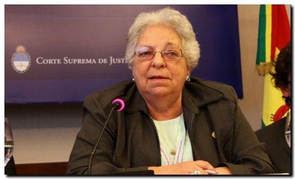 DECESO: Murió la jueza de la Corte Suprema de Justicia Carmen Argibay
